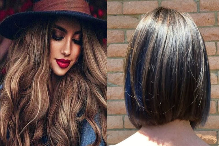 2018 Hairstyle For Dark Hair Color: 12 Dark Brown Hair Colors Ideas 2018-2019 For Women