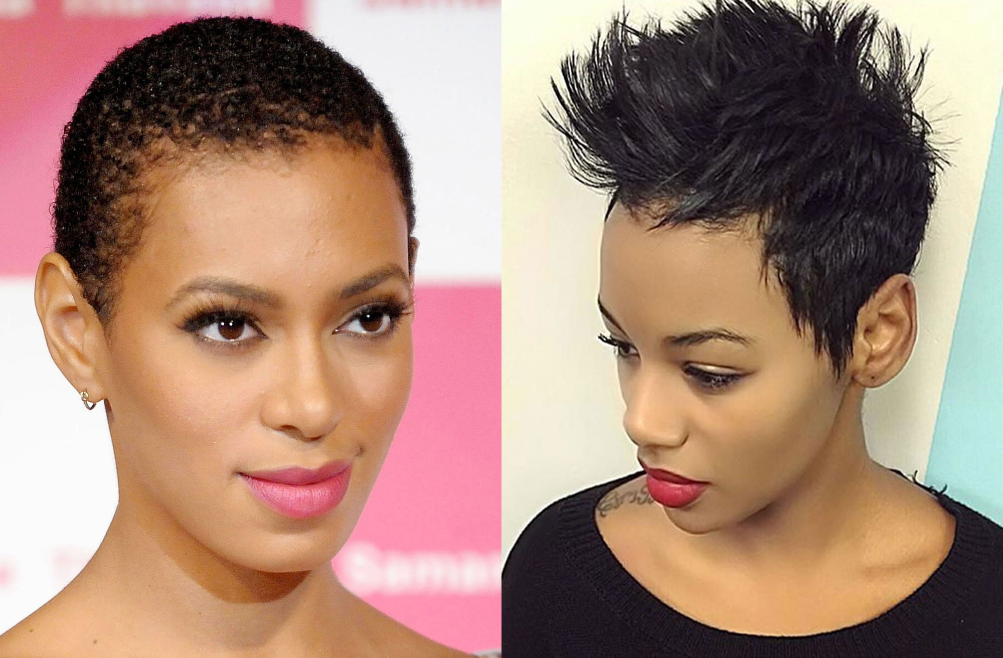 Best 34 Pixie Short Haircuts For Black Women 2018 2019 Hair Ideas