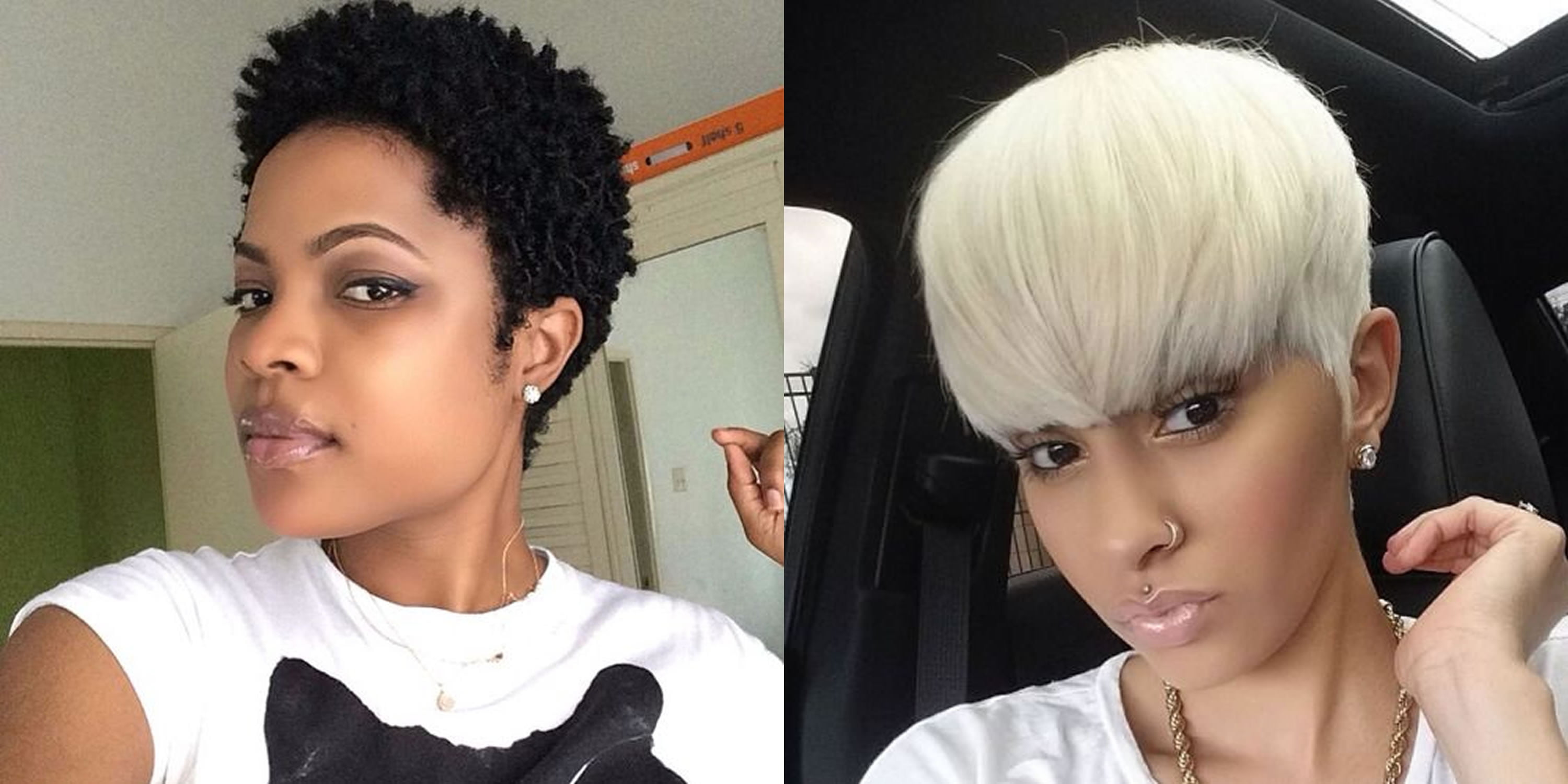 Pixie Short Haircuts and Hair Colors for Black Women - Best Short Hair Images for 2018-2019 (1)