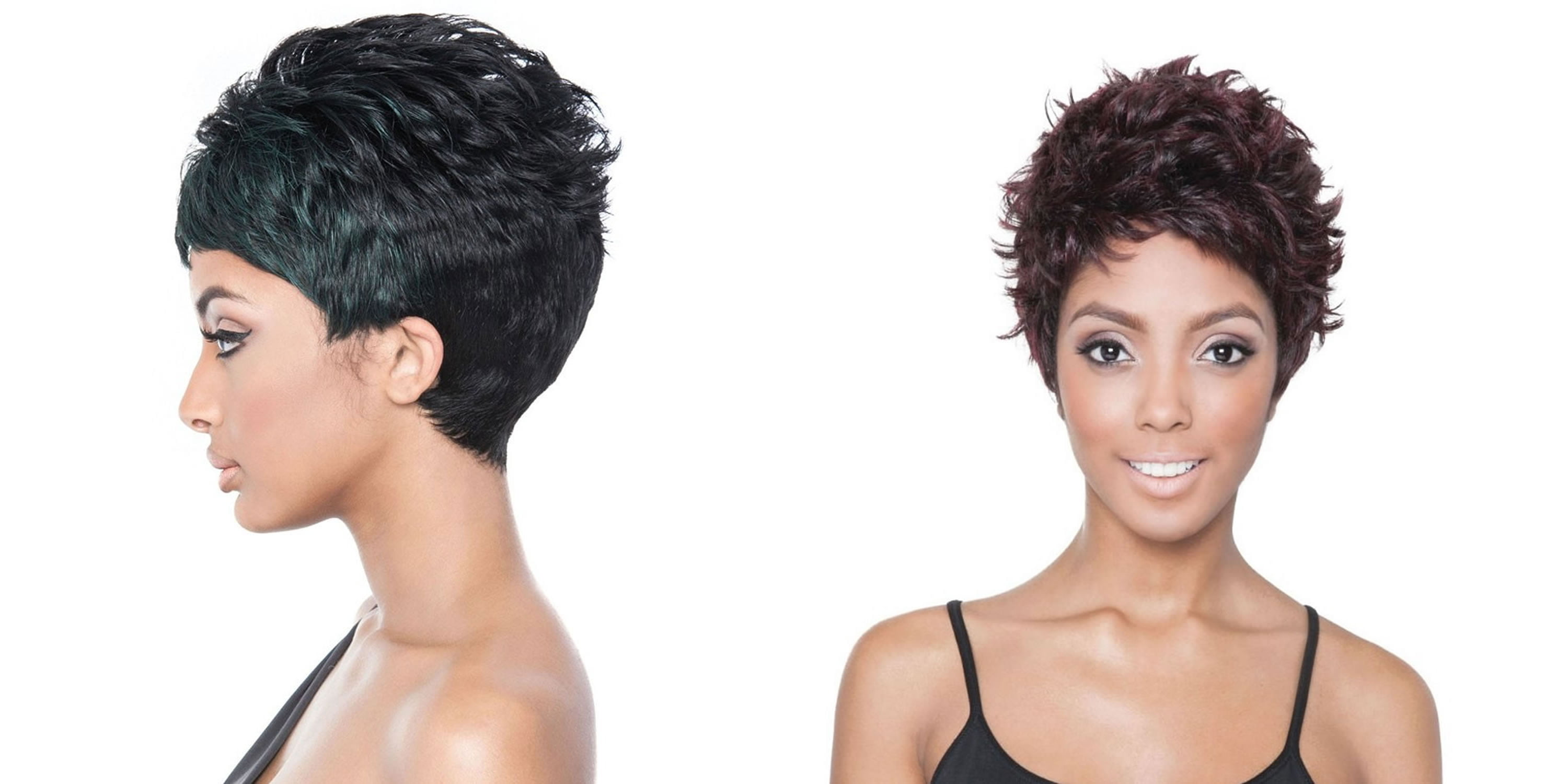 56 Cool Pixie Short Haircuts and Hairstyles for Black Hair ...