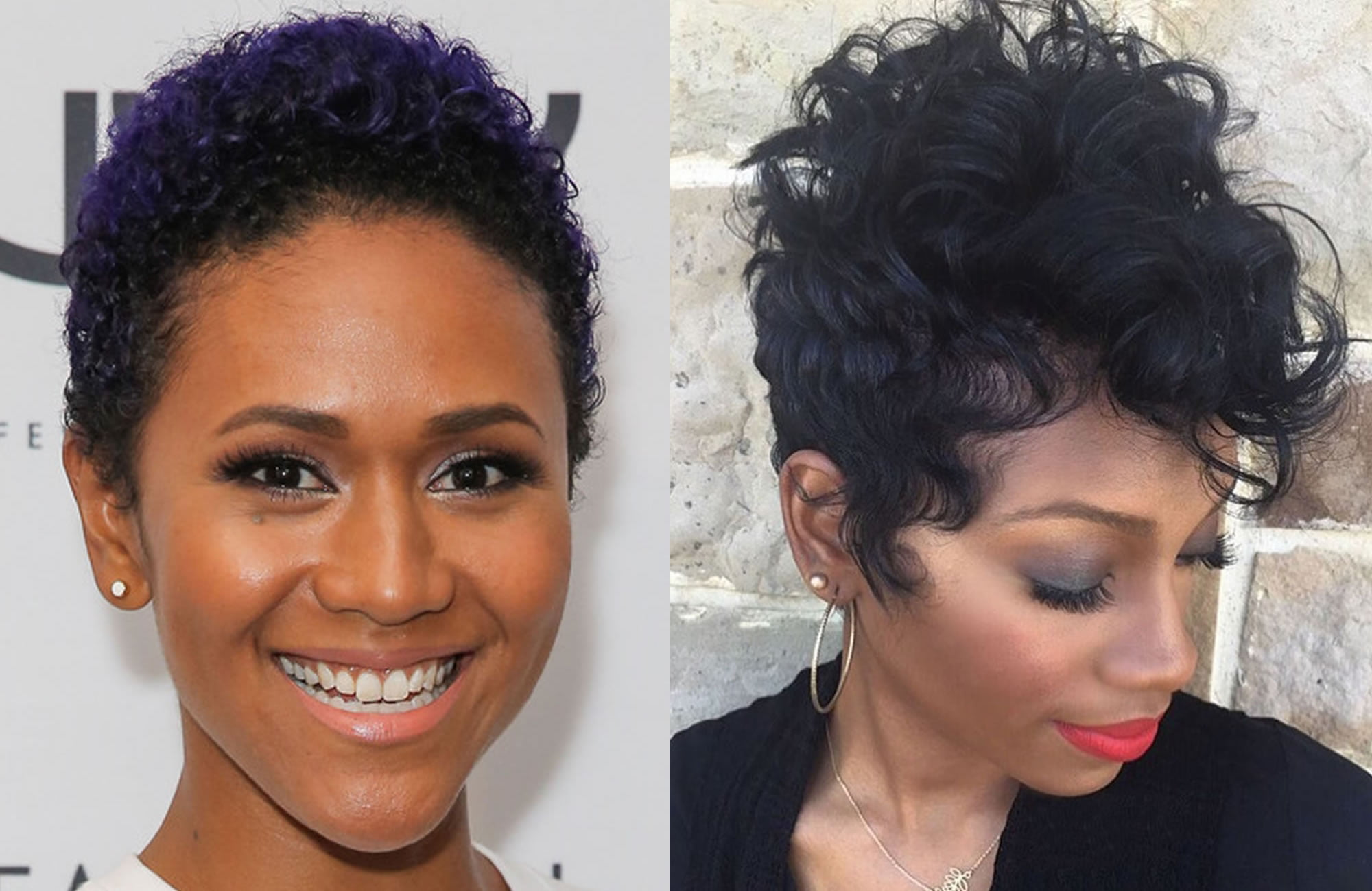 Hair Style Websites: 2018 Short Pixie Haircut Images & Hair Colors For Black