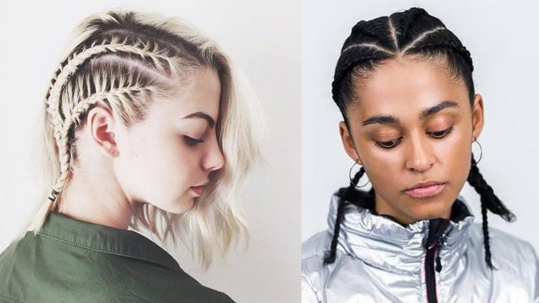 Braided Hairstyles for Short Hair for 2018-2019 & Braids Haircut ...