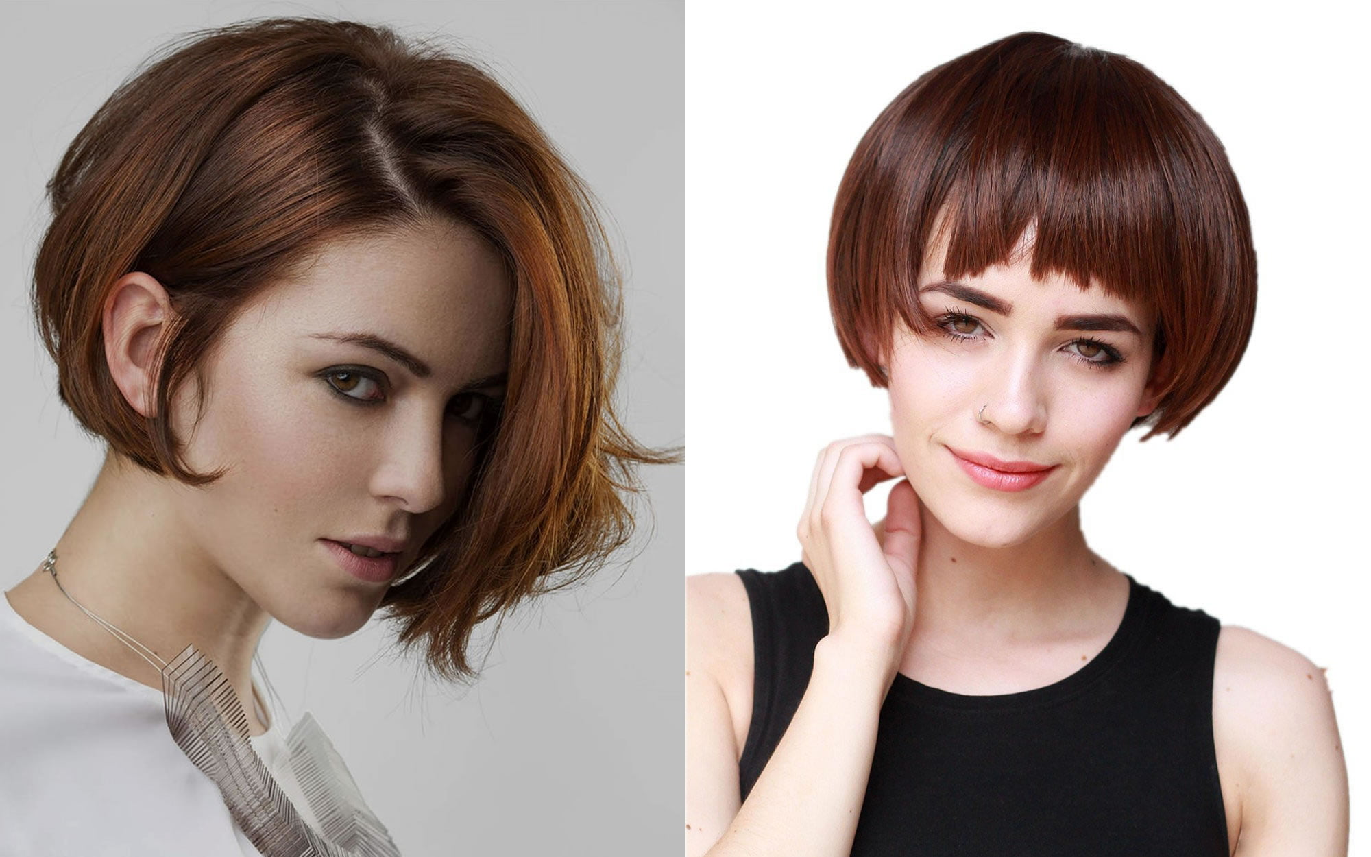 Hairstyles 2019: Layered Medium Bob Haircuts And Hair Color Images For 2018