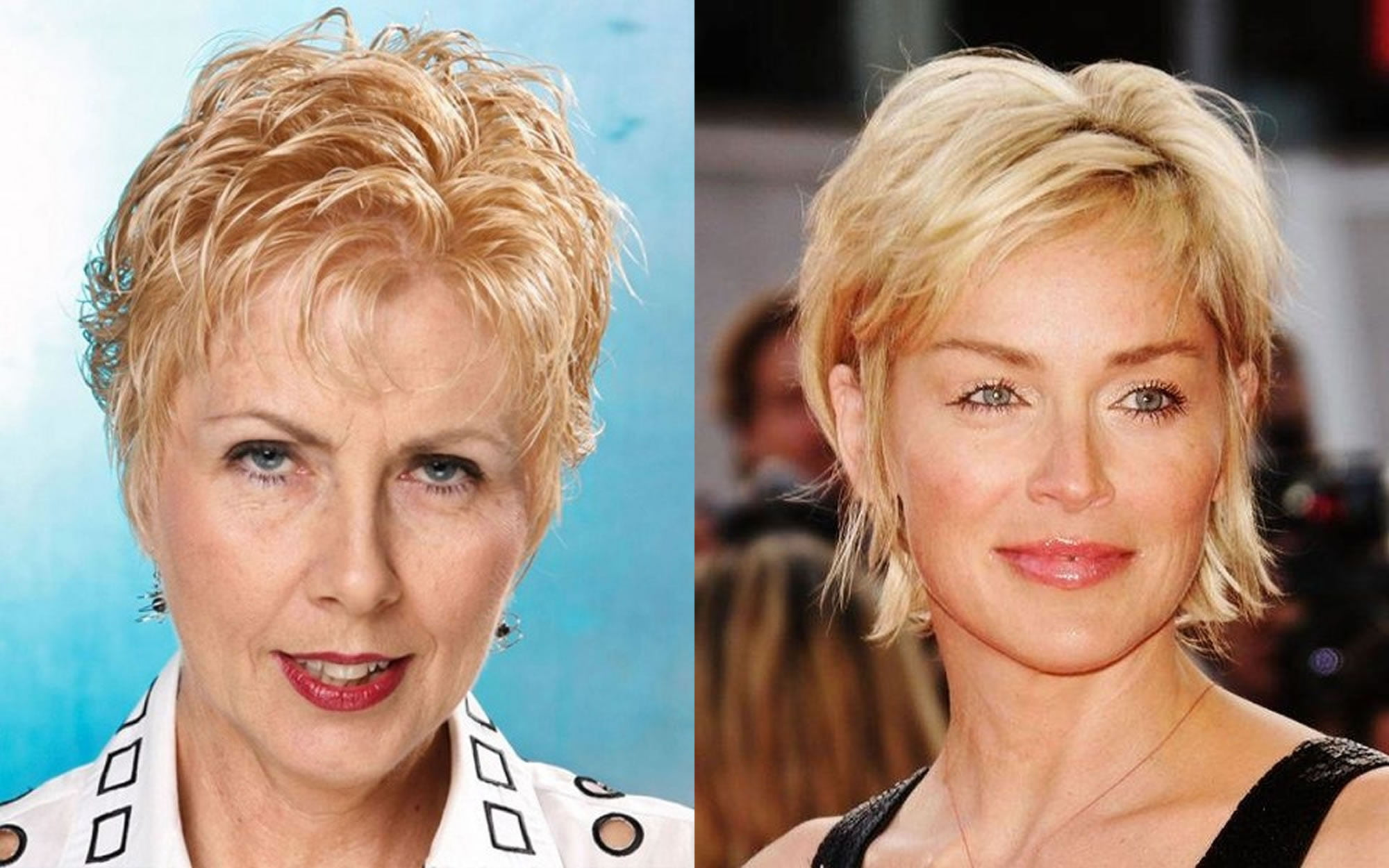 Hairstyles Over 40 2019: Short Haircut Images For Older Women & Pixie+Bob Fine Hair