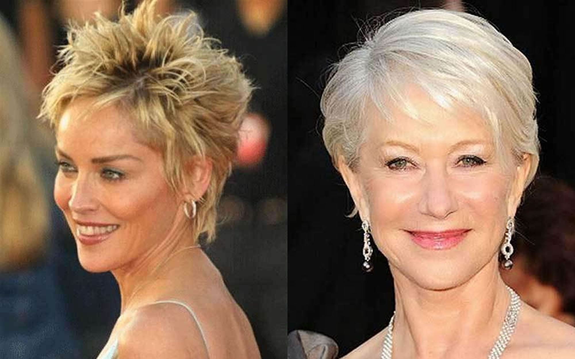 Hairstyles 2019: Short Haircut Images For Older Women & Pixie + Bob Fine