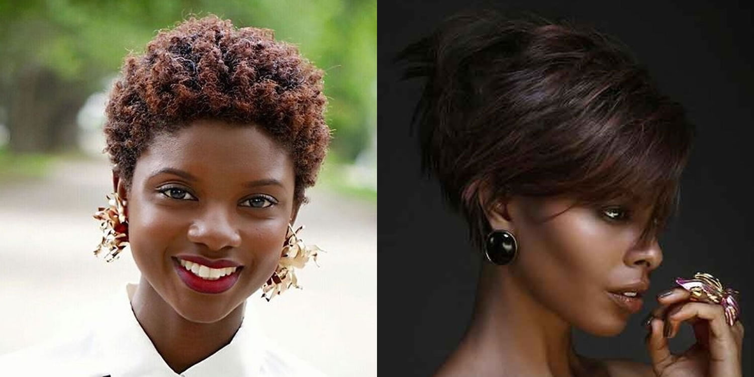 Afro American Women Short Hairstyles Fine Hair For 2018