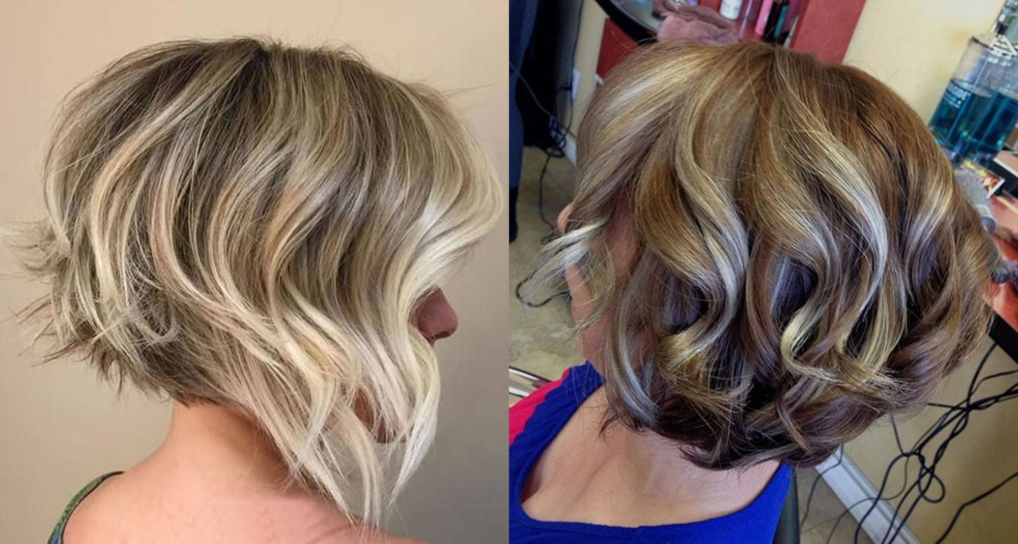 Hair Color Styles: The Best 50 Balayage Bob Hairstyles (Short+Long) & Highlights