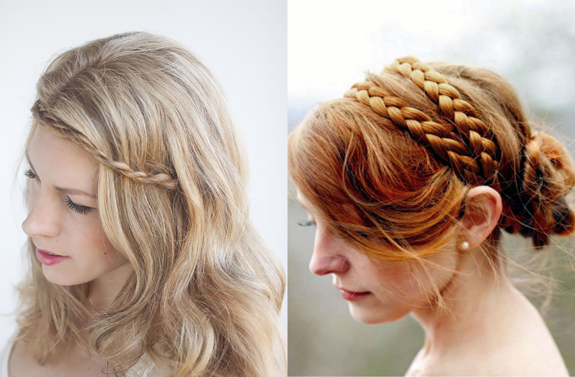 Hair Style Website: Braided Headband Hairstyles For Ladies For Summer 2018