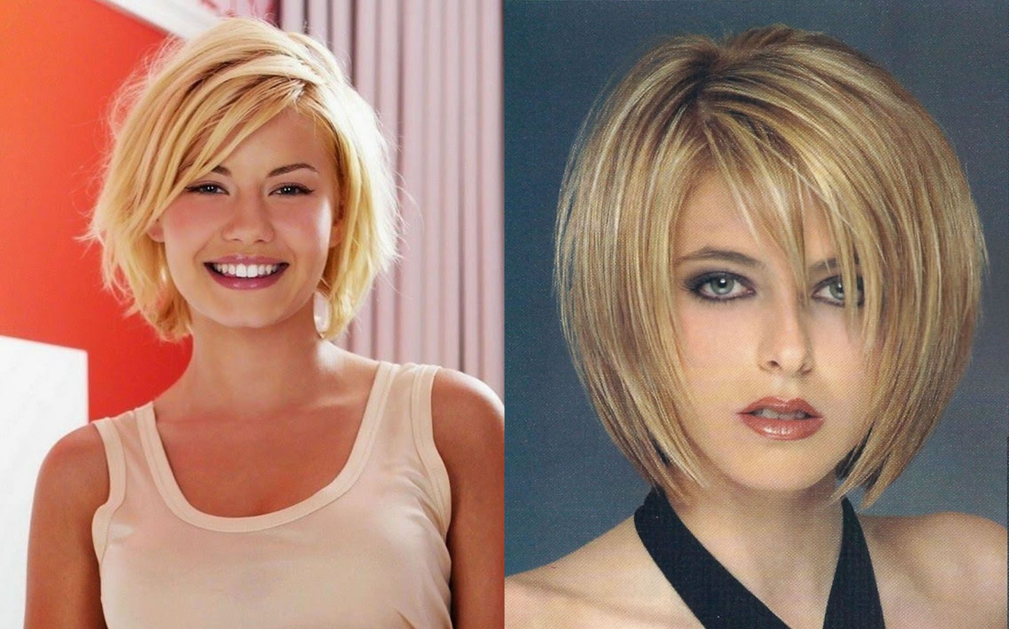 20 Easy Medium Short Bob Haircut Images For Fine Hair Round Face