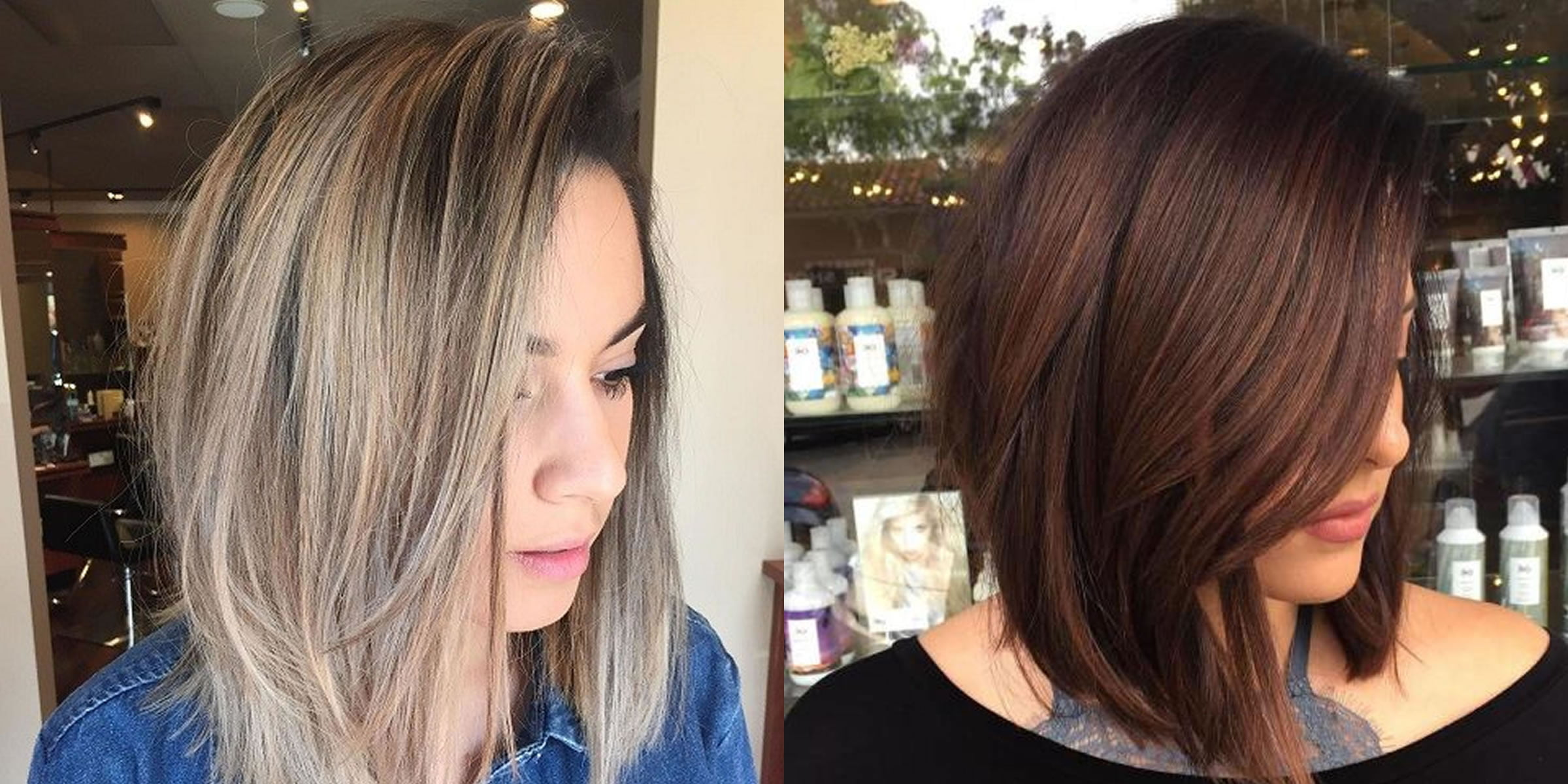 60 Best Long Bob Hairstyles and Hair Colors ( Balayage ...