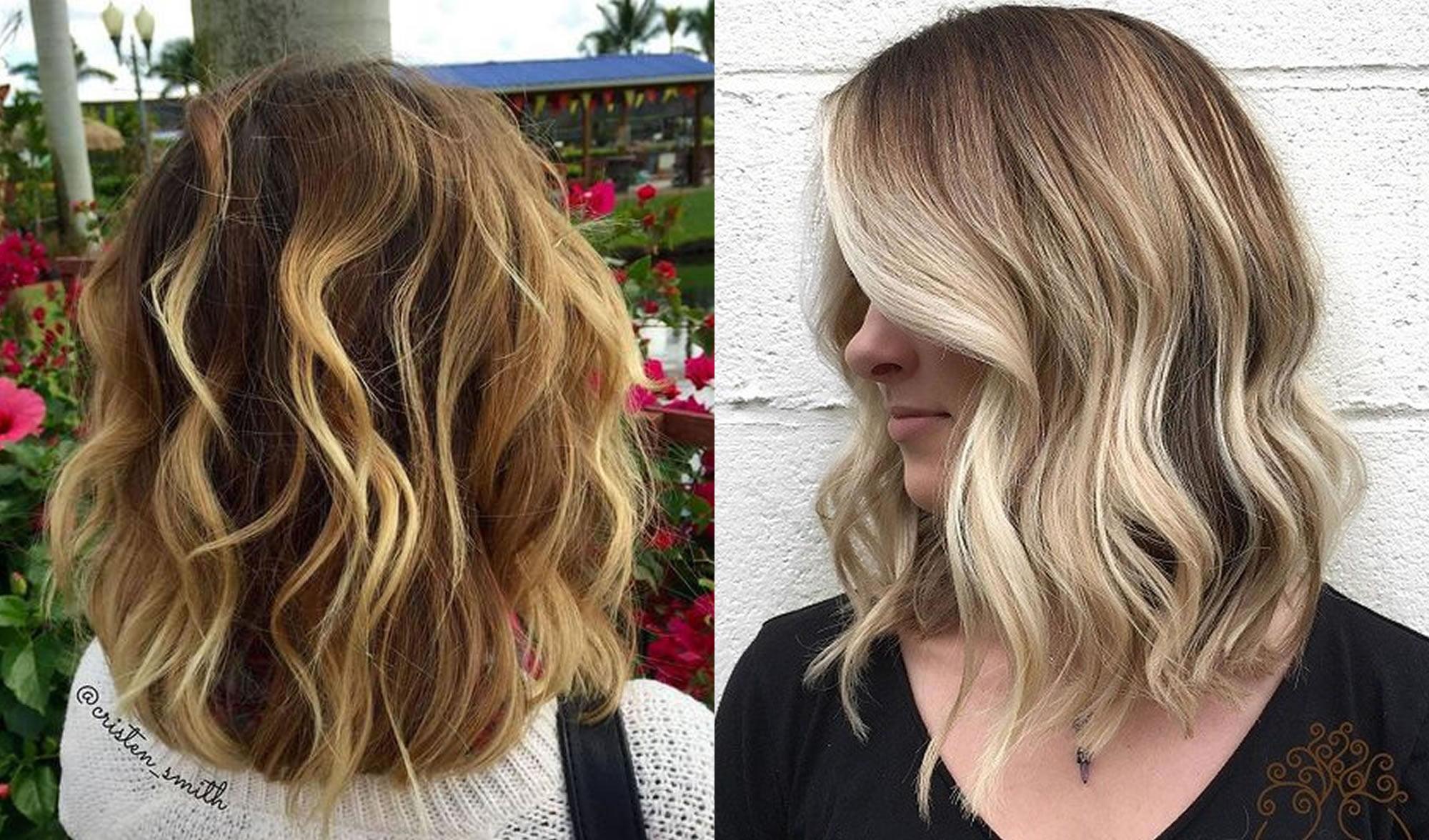 Long bob hairstyles and hair colors - 2018 & 2019 Bob ...