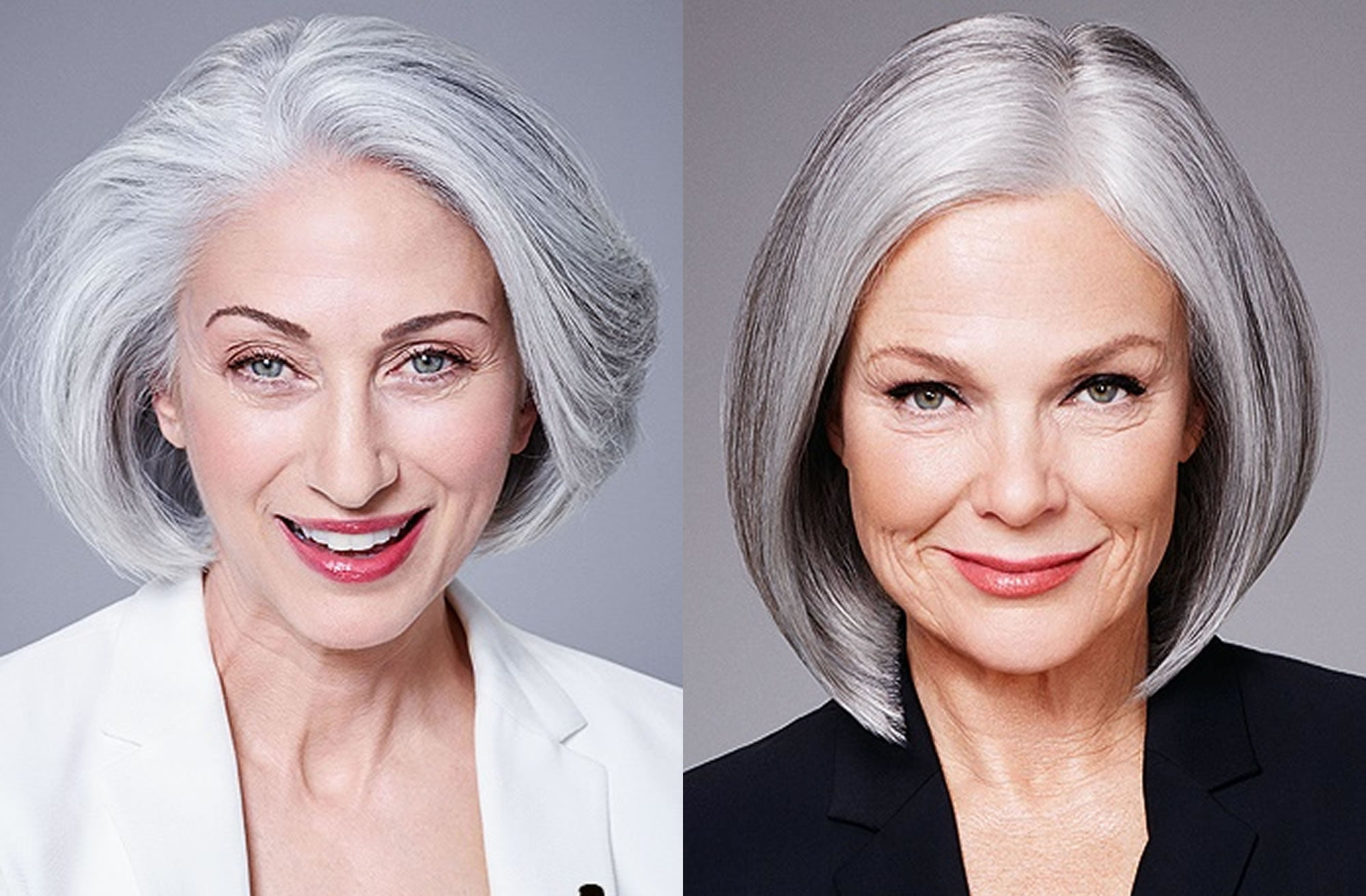 24 Best Medium Haircuts For Older Women Over 50 Hair Color