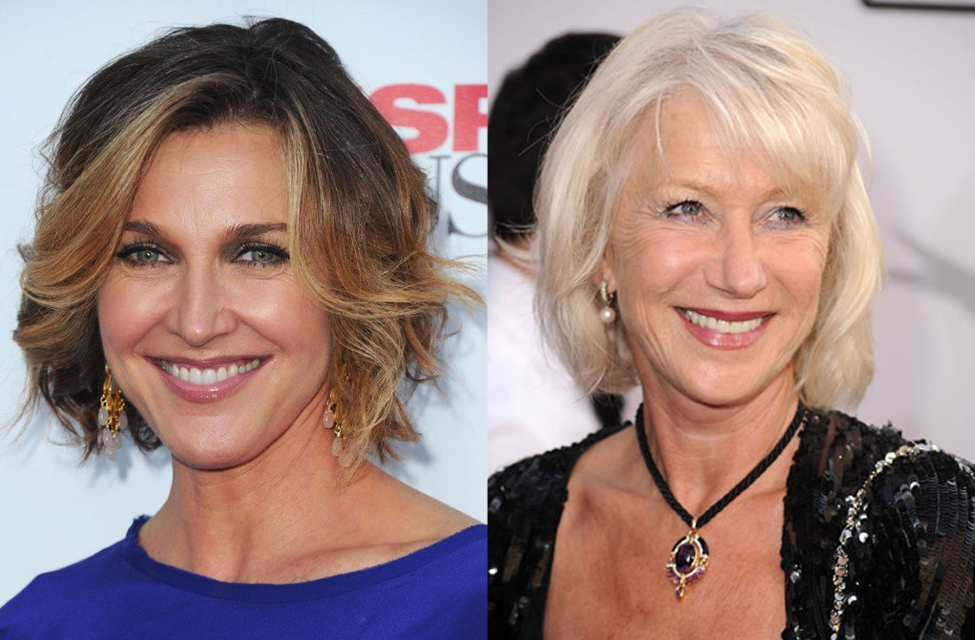 24 Best Medium Haircuts for Older Women Over 50 & Hair ...