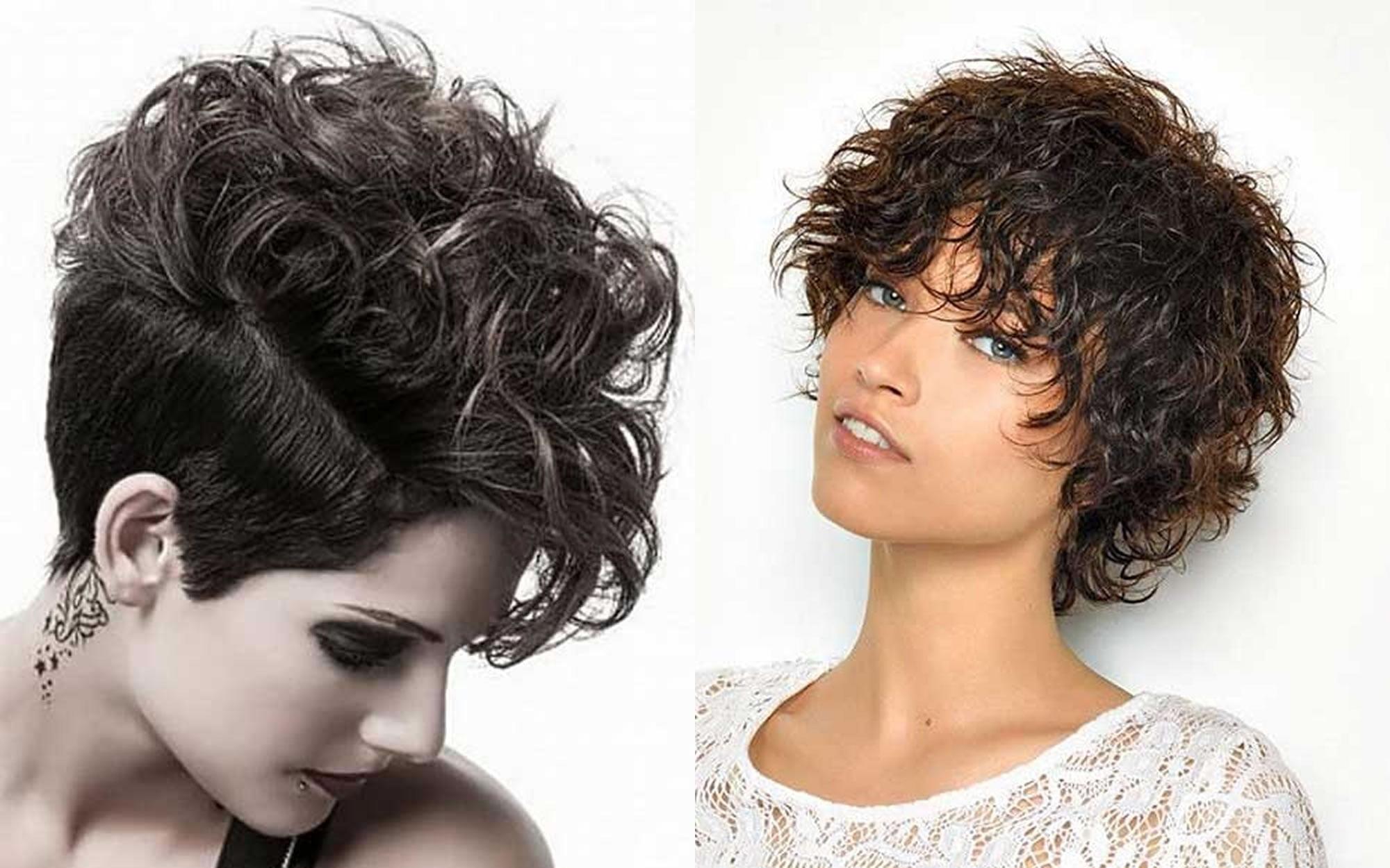 Short Hairstyles 2019 Curly: Curly Short Hairstyles For Women