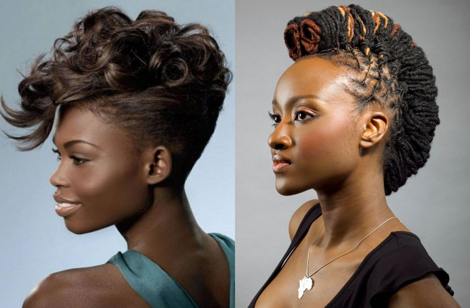 25 Mohawk Hairstyles for Black Women 2018-2019