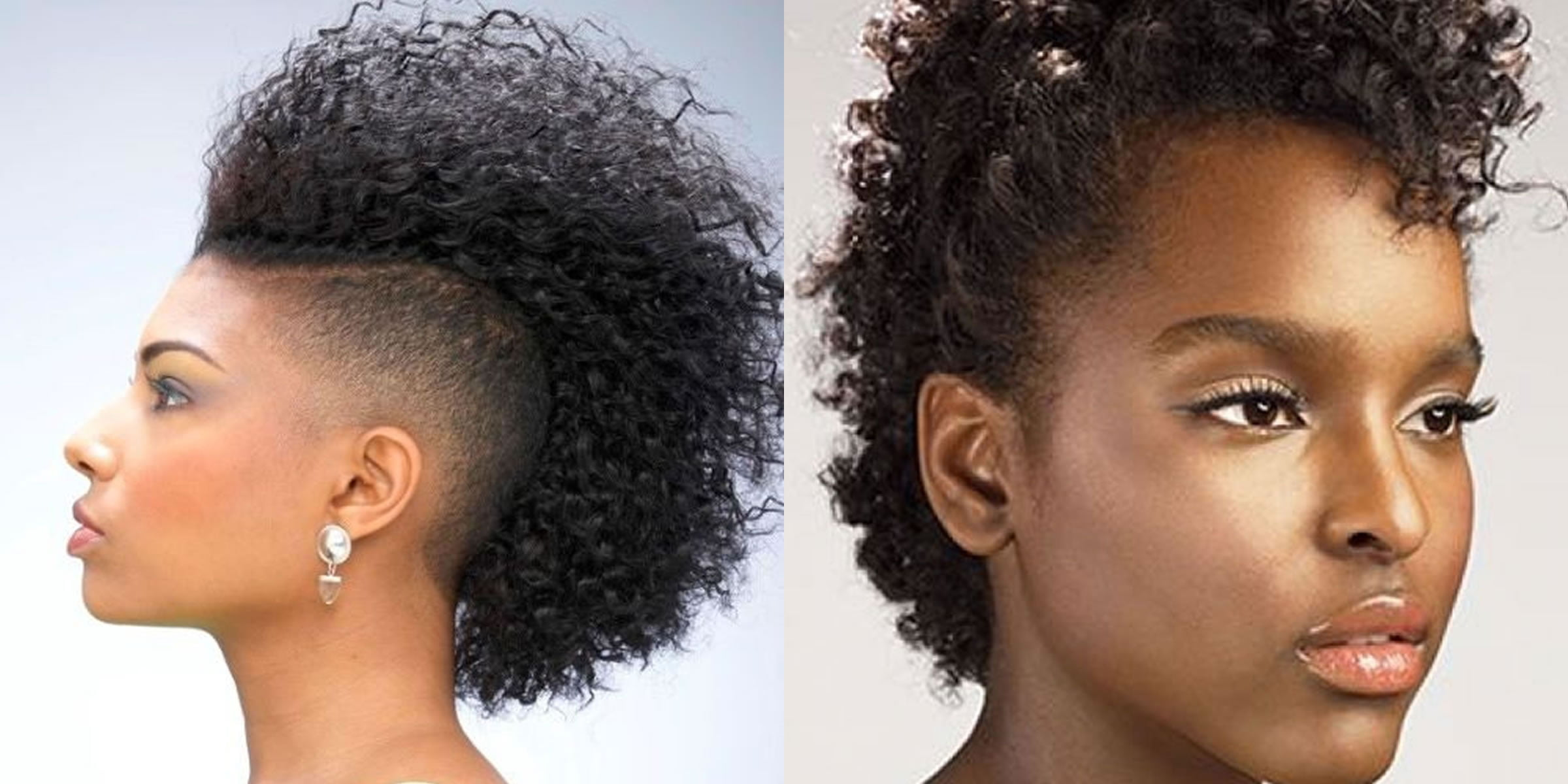 Mohawk Hairstyles for Black Women 2017-2018 Hair Colors for Afro-American Women - Hair Colors