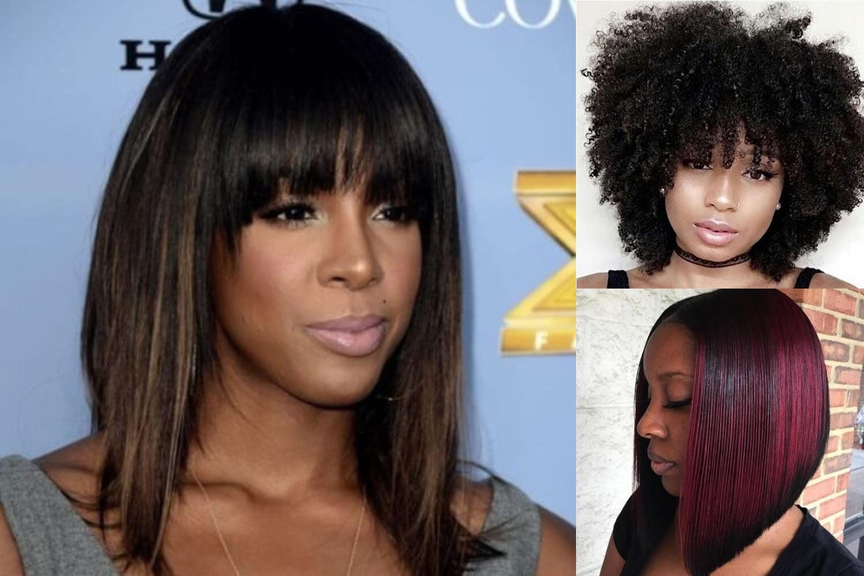 Short Bob Hairstyle for Black Women & Hair Color Ideas 2018-2019 ...