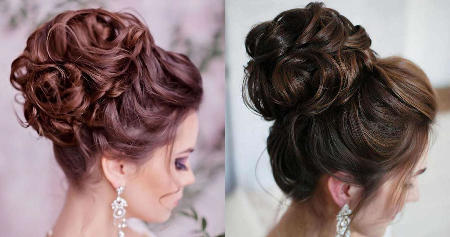 wedding dinner hairstyle