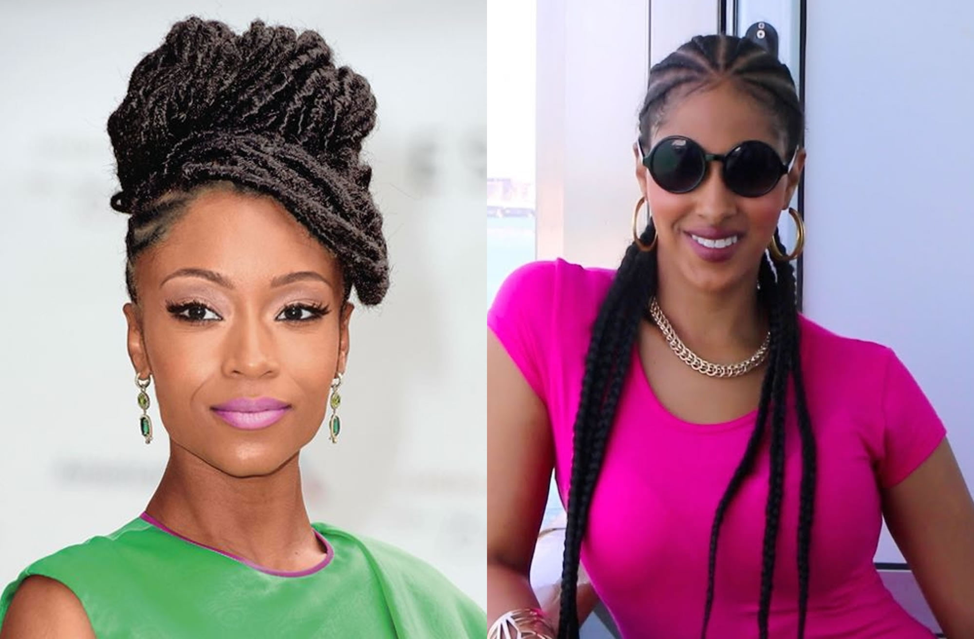 Hairstyles 2019: Braided Hairstyles For Black Women 2018-2019 Latest Hair