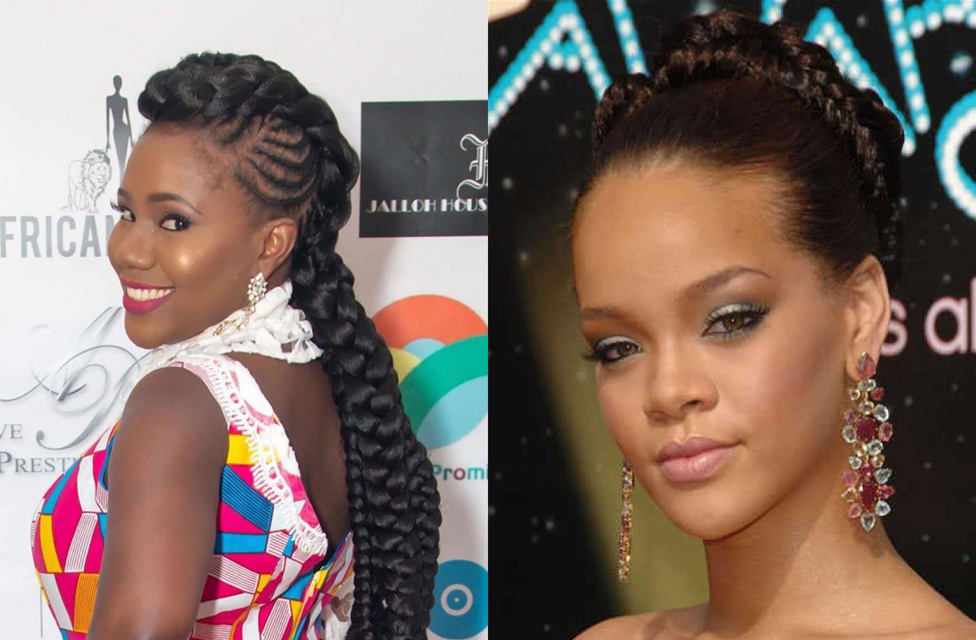 Hairstyles 2019 Black Female Braids: Braided Hairstyles For Black Women 2018-2019 Latest Hair