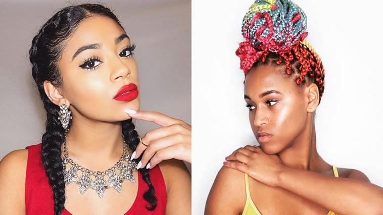 Hair Style Websites: Best 30 Braided Hairstyles For Black Women 2018-2019