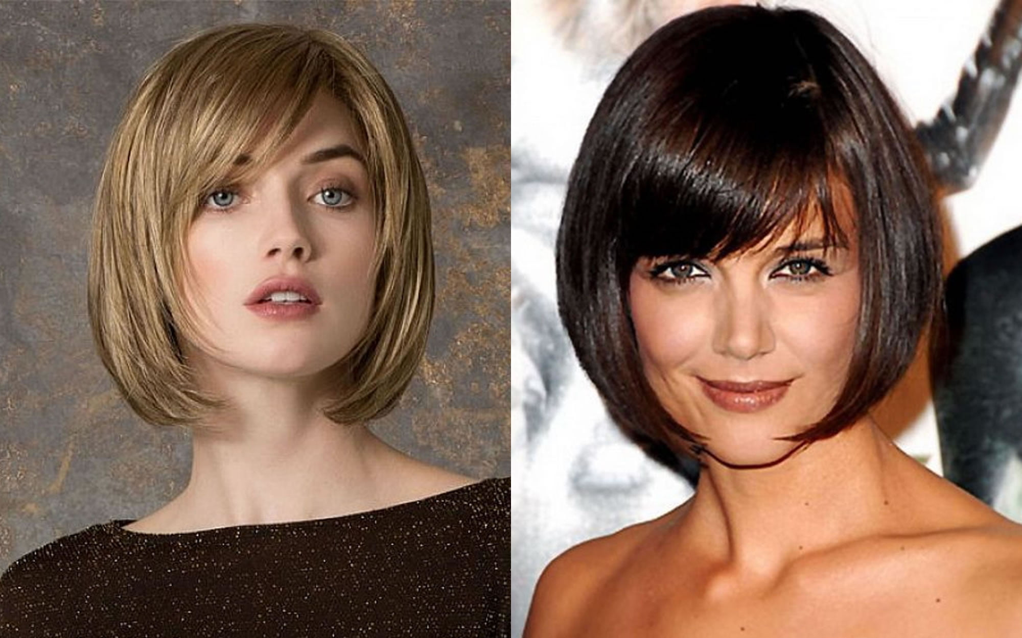Short Hairstyles 2019 With Bangs: 52 Easy Short Bob Haircuts And Blunt Bob Hairstyles With