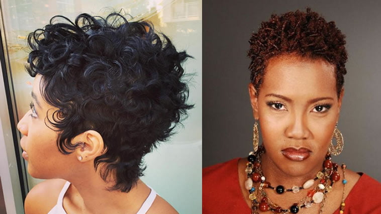 Hair Styles For Short Hair With Color: Best 24 Short Hairstyles For Thin Hair African American