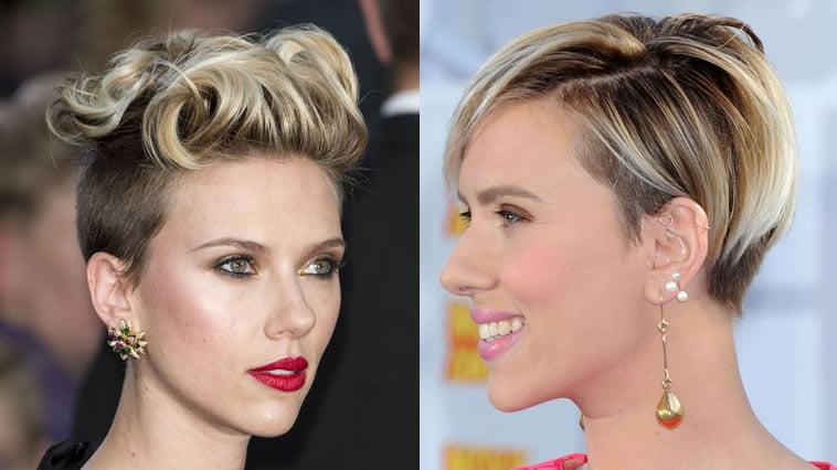 Scarlett Johansson Haircut 2018 Avengers Infinity War