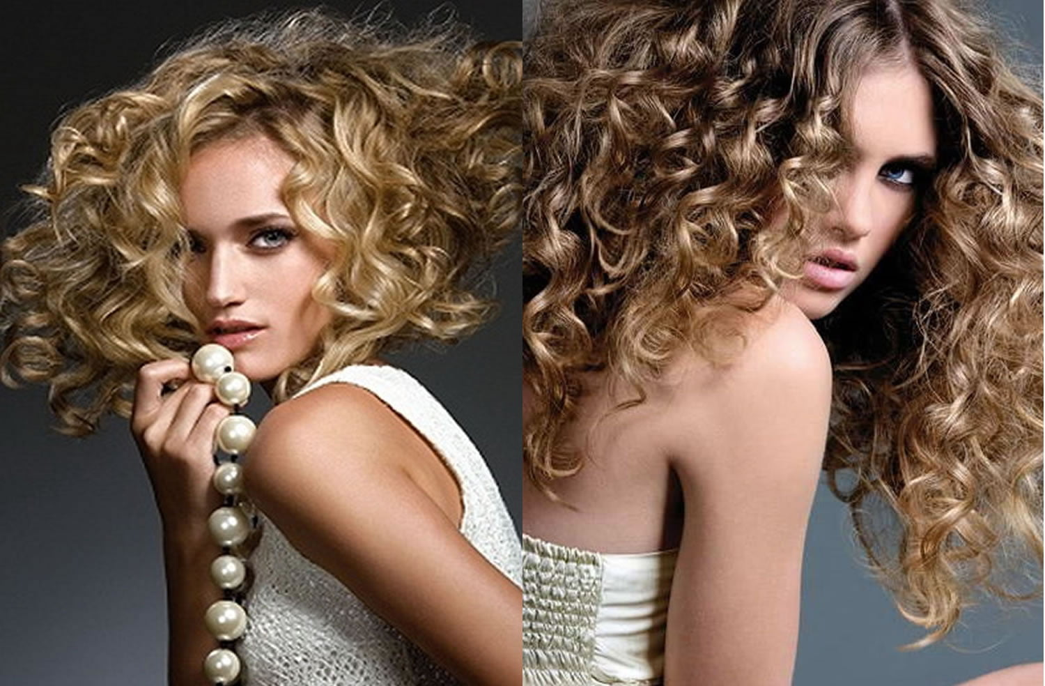 blonde hair color perm hairstyles