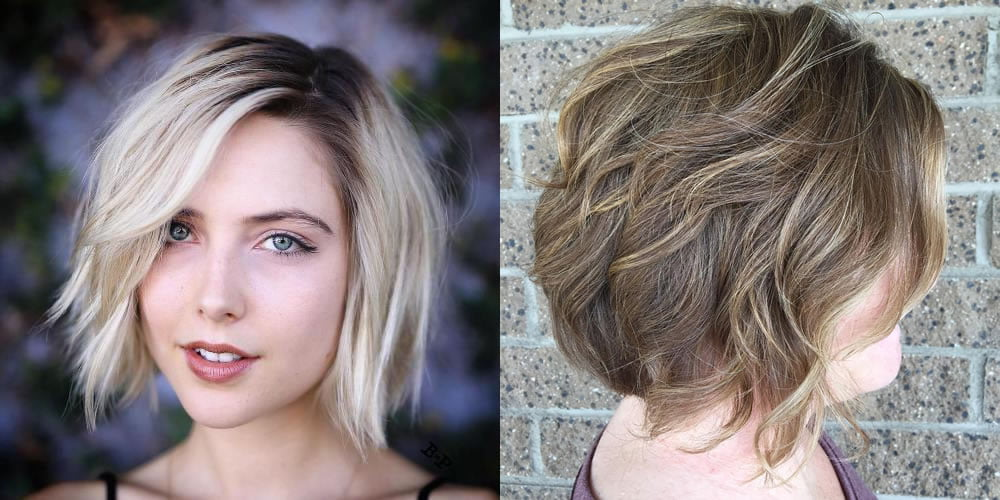 Blonde Balayage Bob Hair Summer Hairstyles Hair Colors