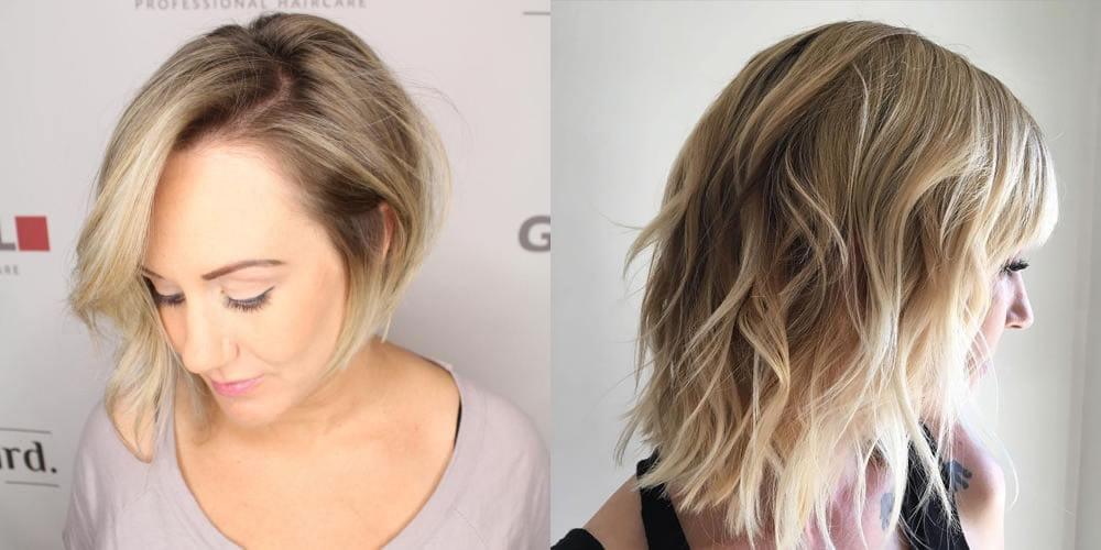 Easy asymmetrical bob hair ombre hairstyles - Hair Colors