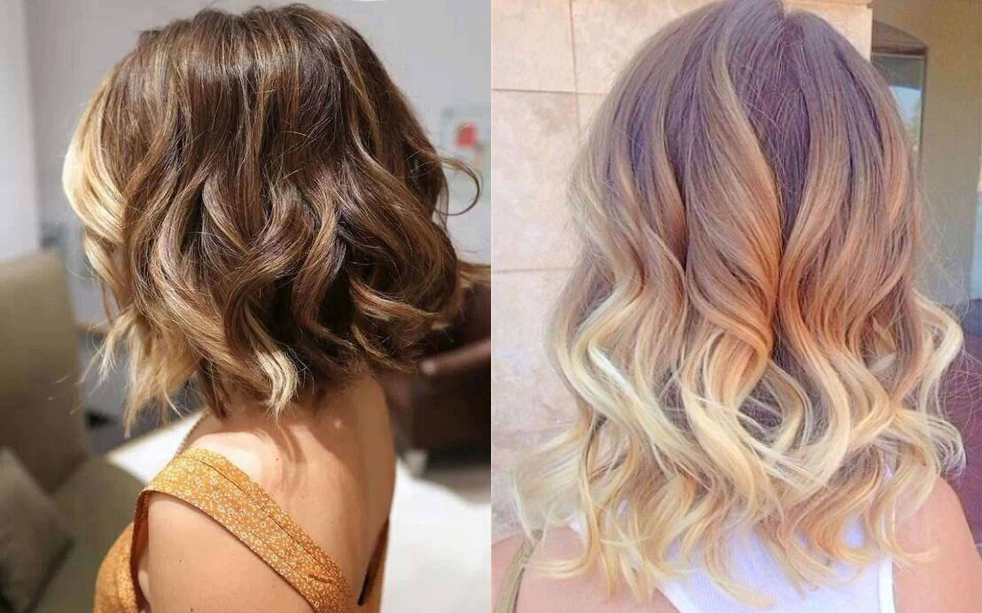 2018 Ombre hair colors