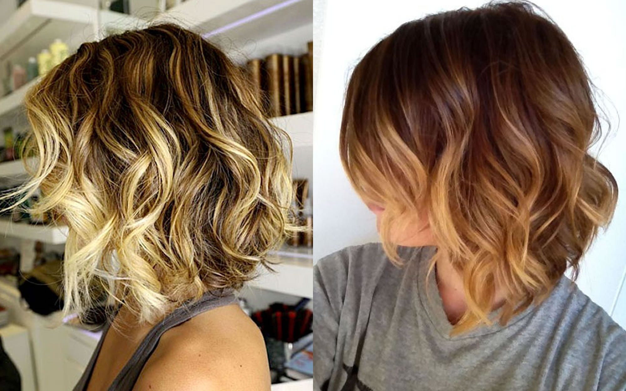 Short ombre hairstyles hair color 2018 - Hair Colors