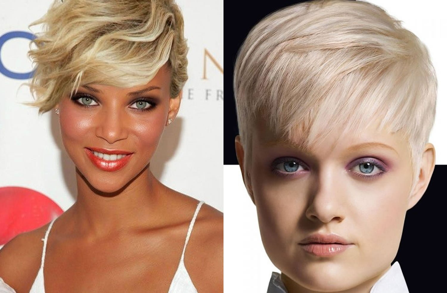 short hairstyle images for 2019