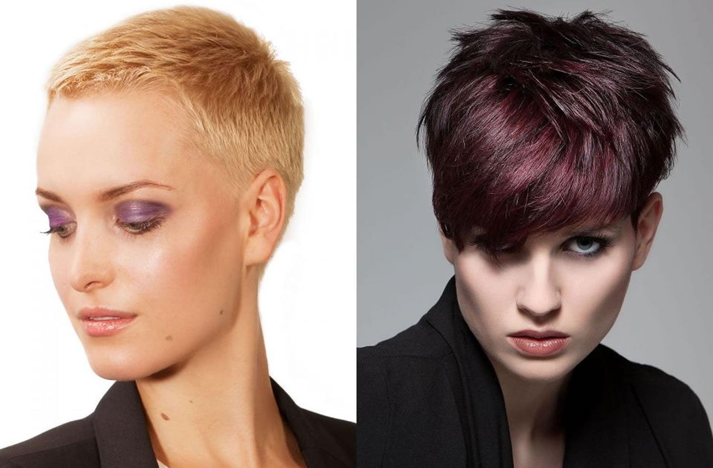 Easy Short Pixie Cut fine hair