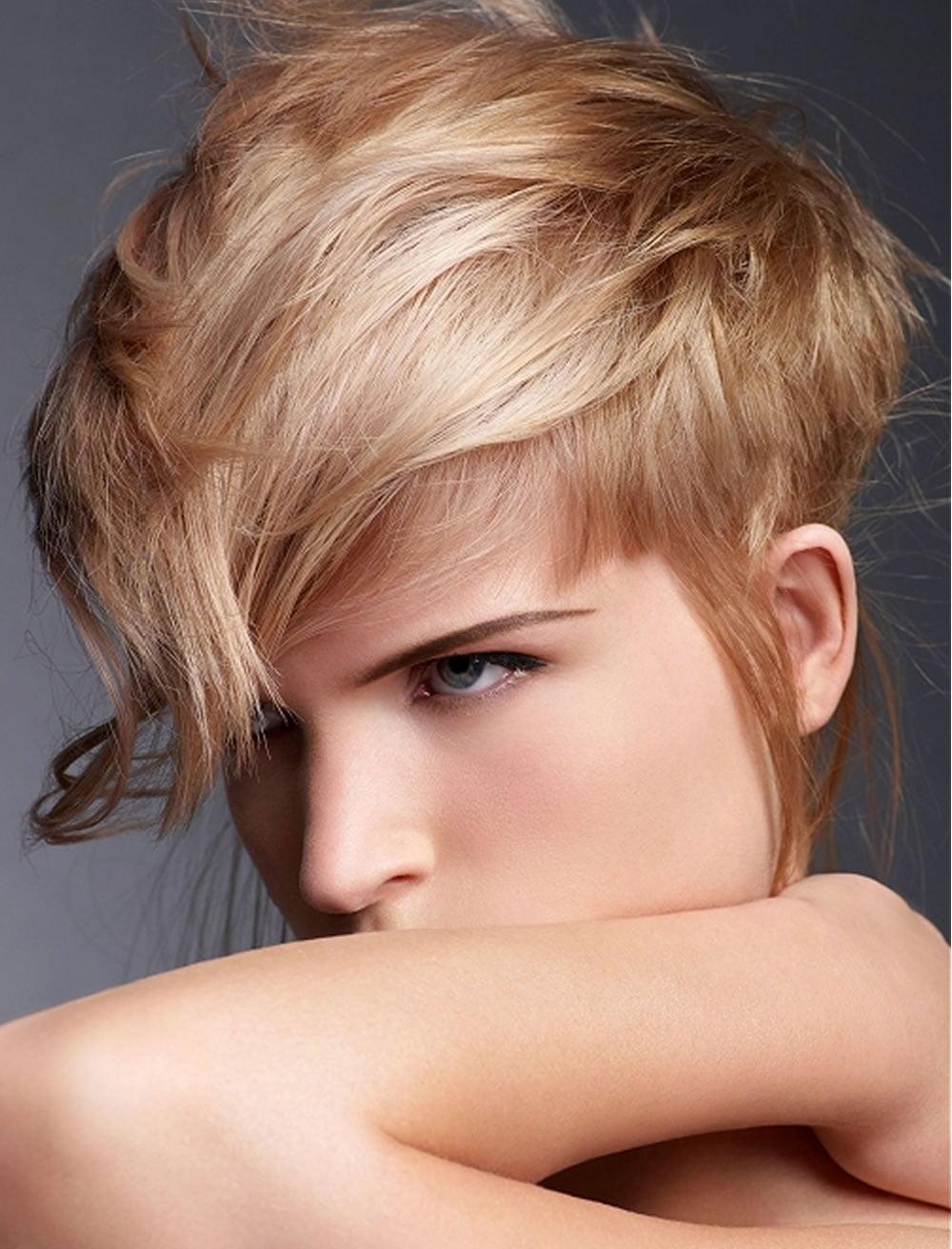 short asymmetrical bob haircuts