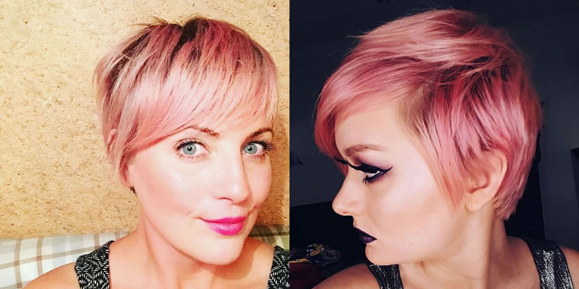 Cool Hair Color Styles: 24 Cool Short Hairstyles For