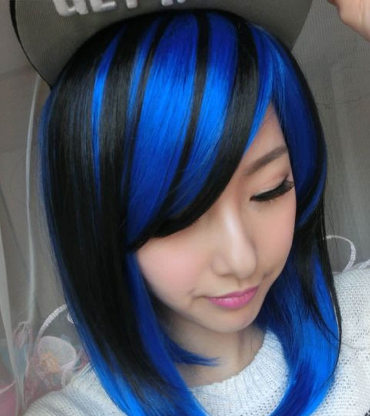 hair colours styles blue hairstyles for hair hairstyles 5827