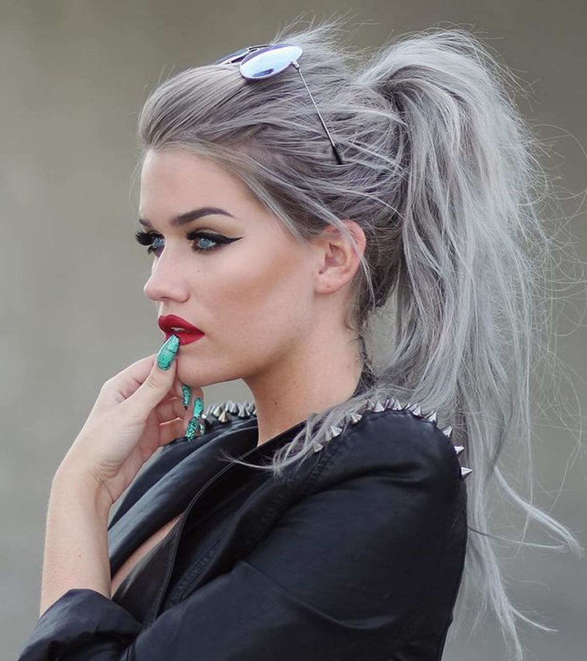 Gray Hair Color Ideas 2018 2019 Long Hair Tutorial Page 2 Of 3