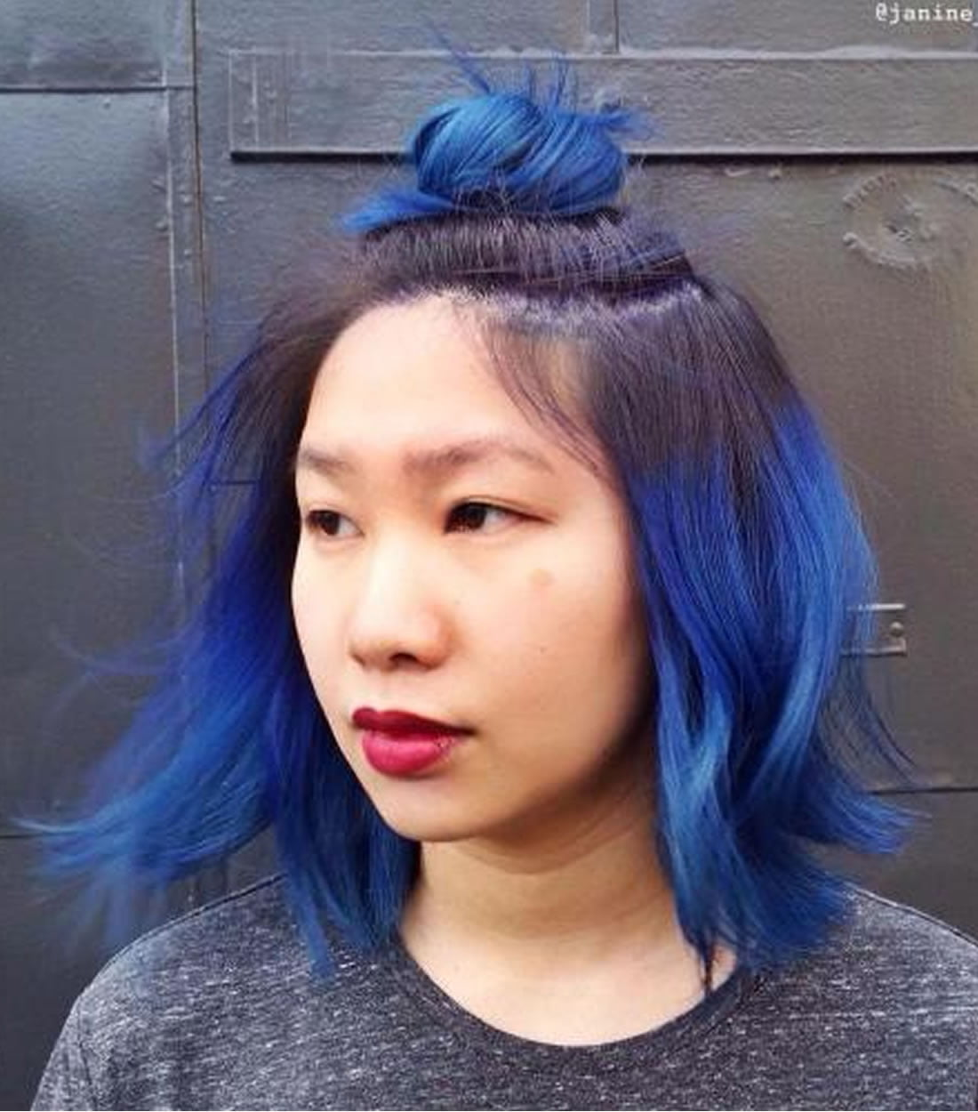 2018 Blue Hair Color Hairstyles For Pretty Women Page 2 Of 5
