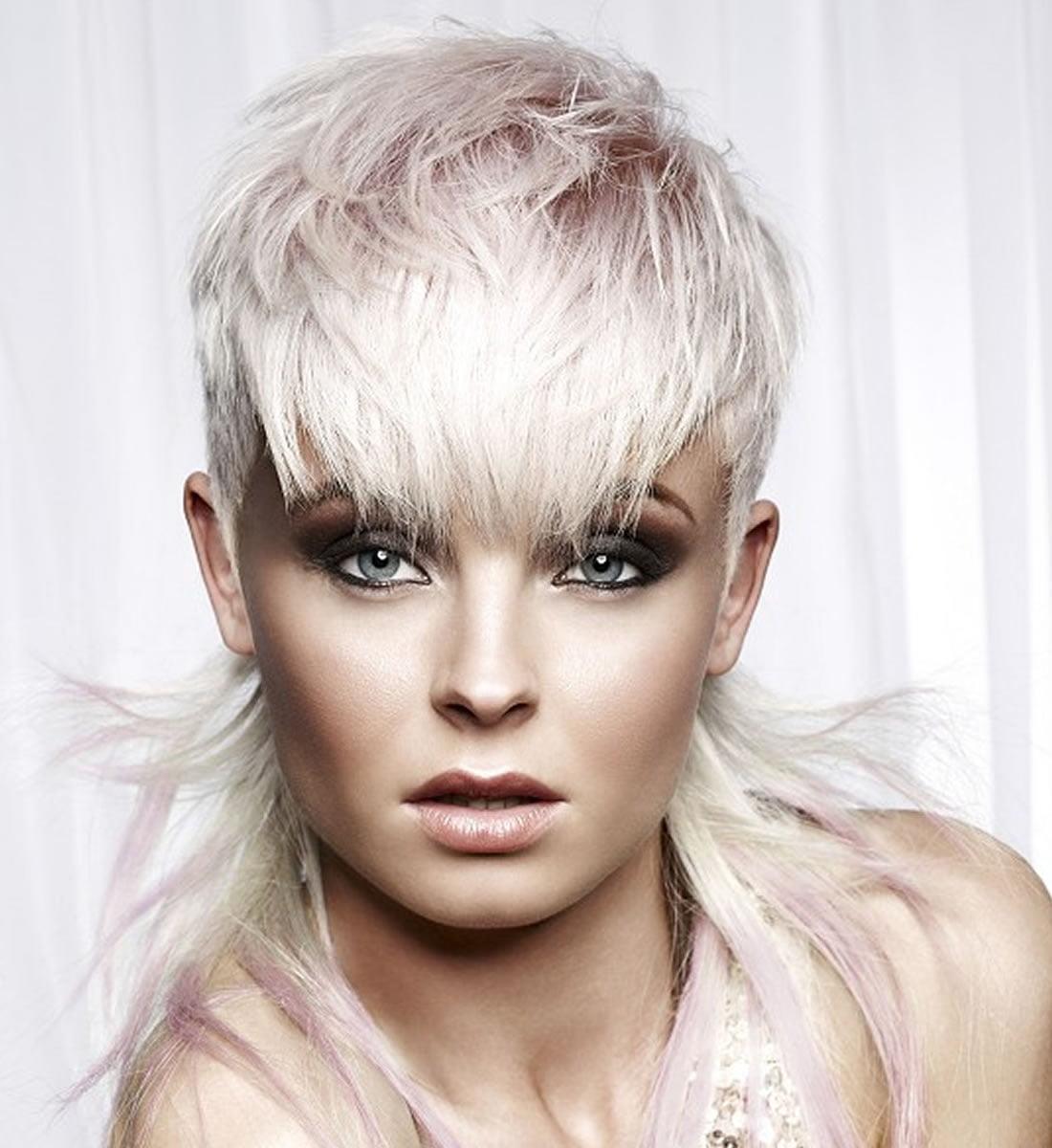 Colored Platinum: Platinum Blonde Hair Color Ideas For 2018-2019