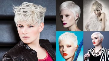 Platinum blonde hair color ideas for 2018-2019