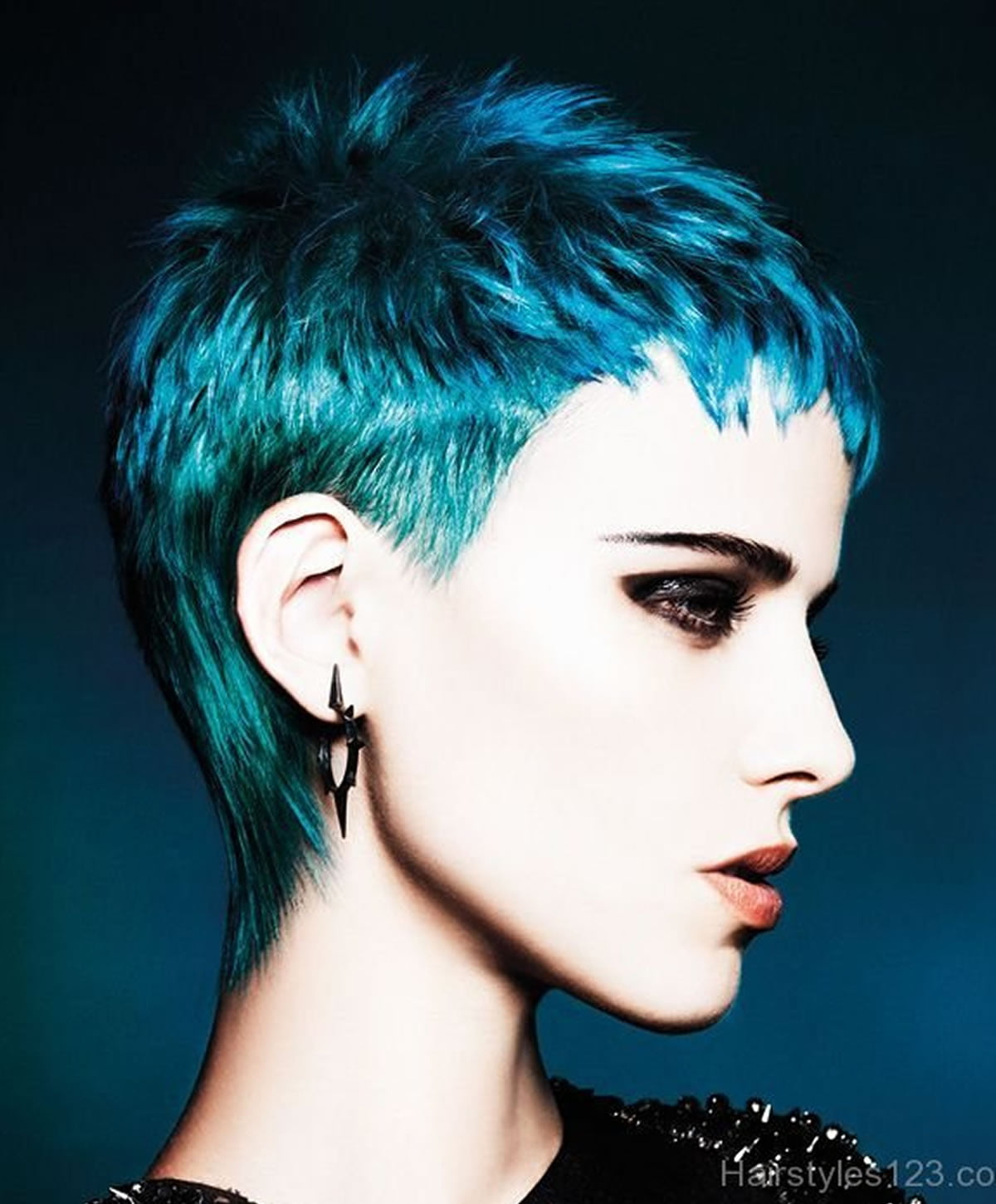 Blue Hairstyles 2018 2019 Hair Colors