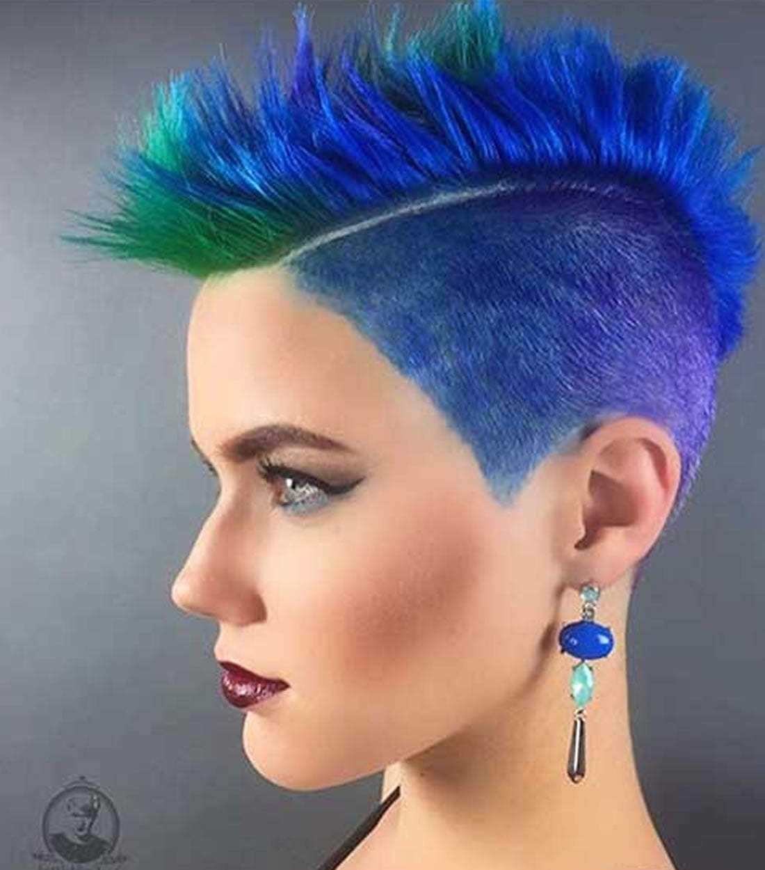 new hair dye styles 2018 blue hair color hairstyles for pretty page 2 of 5 1414