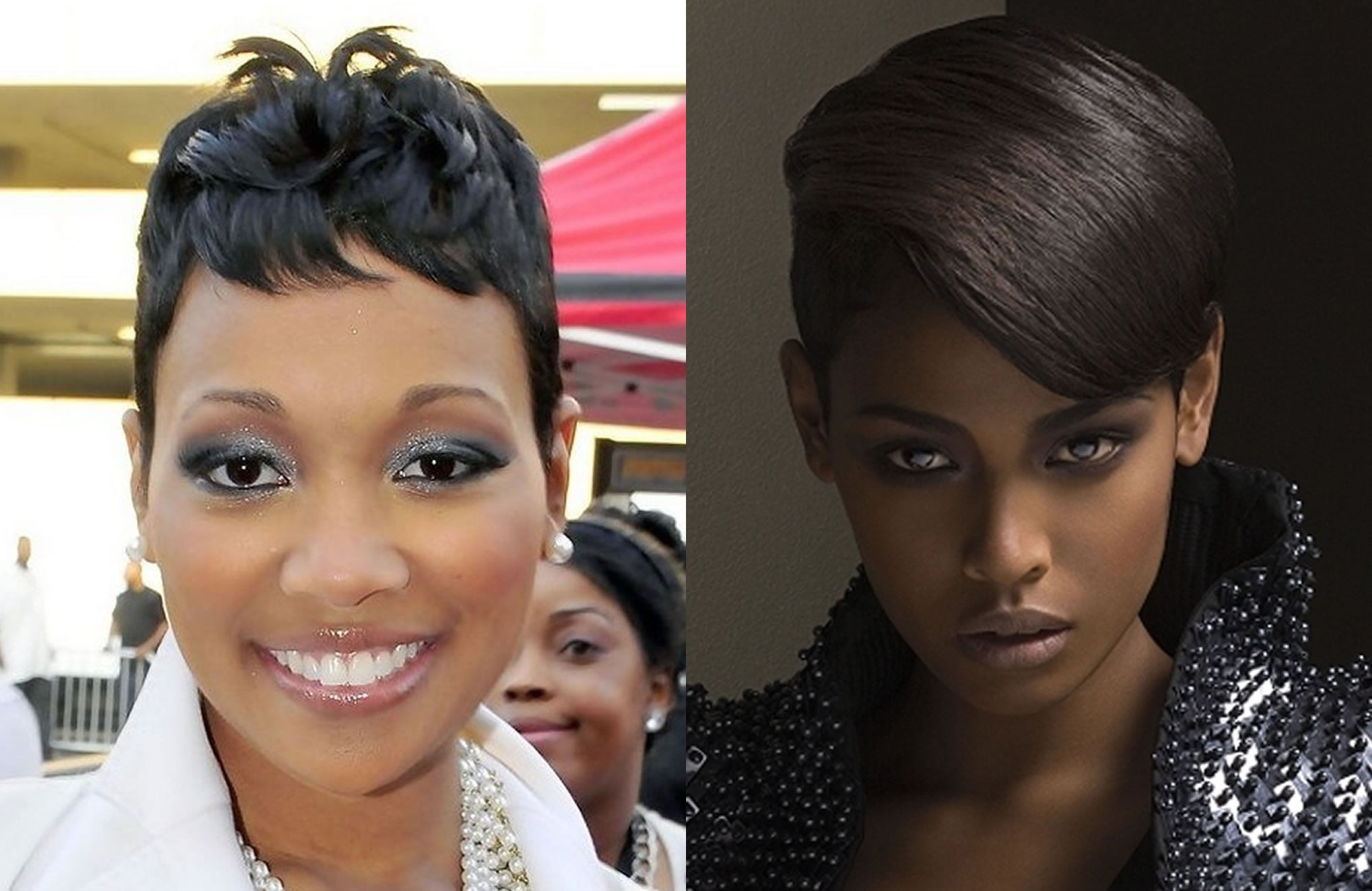 2018 Short Pixie Haircut Images Hair Colors For Black Women Page