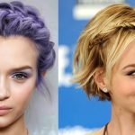 Braided Hairstyles for Short Hair for 2018-2019 & Braids Haircut Images - Hair Colors