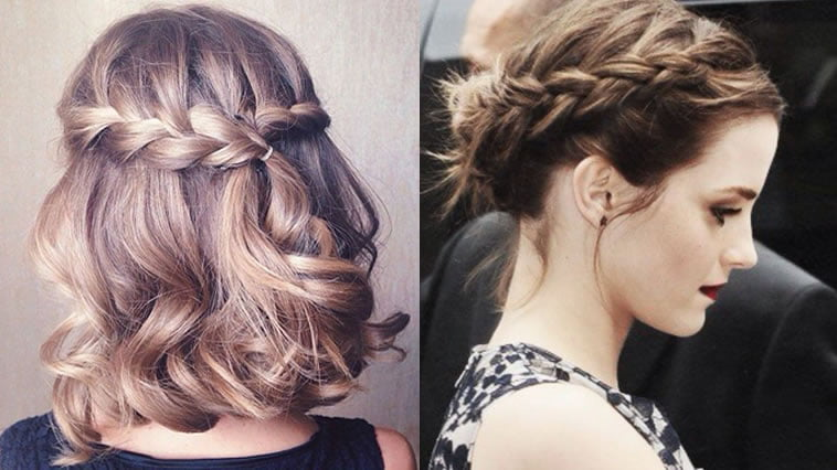 Hairstyles 2019 Braids: Trendy 18 New Braided Hairstyles Short Hair For 2018-2019