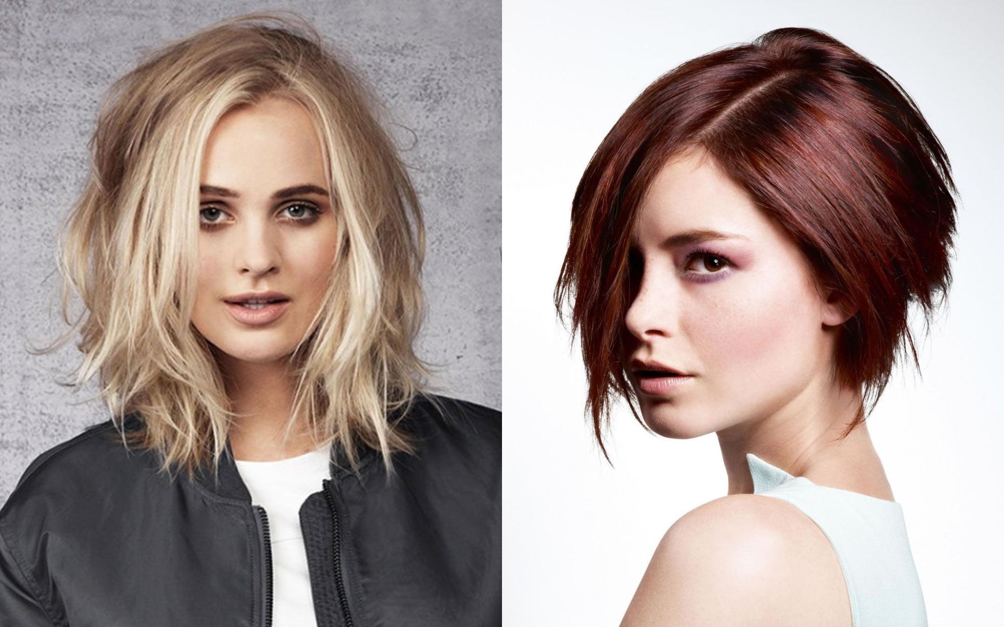 Layered Medium Bob Haircuts and Hair Color Images for 2018 ...