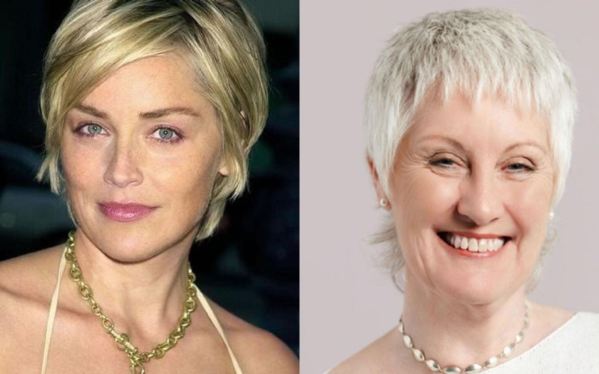short haircut images for older women & pixie+bob fine hair 2018-2019