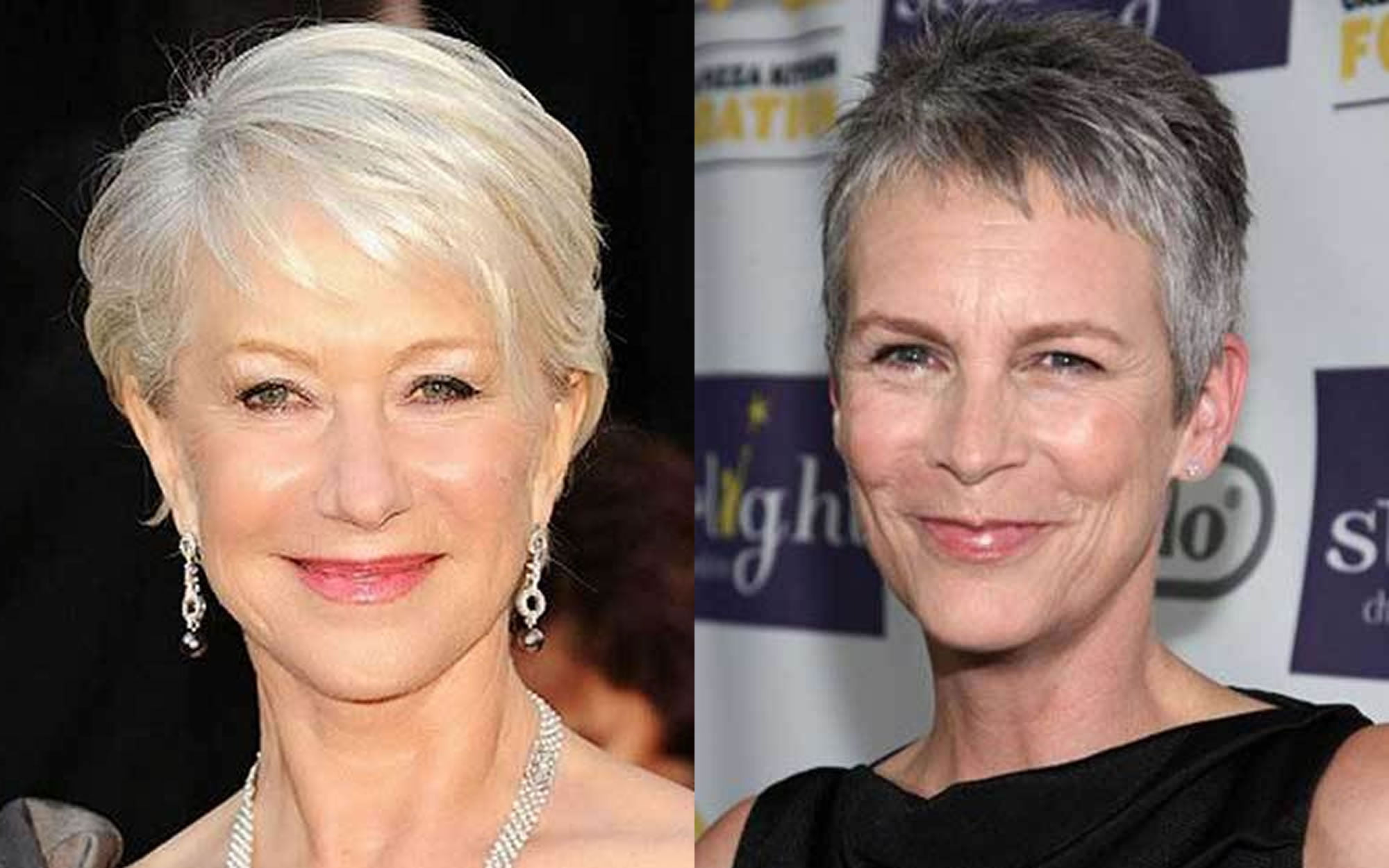 Short Haircut Images For Older Women Pixiebob Fine Hair 2018 2019